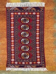 Vörös kaukázusi kézi szőnyeg