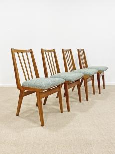 Mid-century modern étkező szék garnitúra