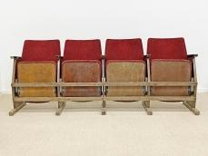 Színházi széksor - 1960 körül