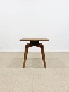 Skandináv póklábú, forgó lapú asztalka